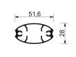 Alumínim profil mérete