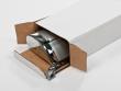 Asztali roll-up, karton csomagolásban