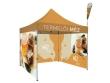 Pop-up sátor 3 × 3, 3 db teli oldalfallal