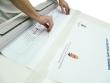 Roll-up nyomat behelyezése a szerkezetbe