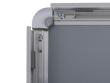 20mm-es profil, lekerekített sarokkal, nyitott állapotban